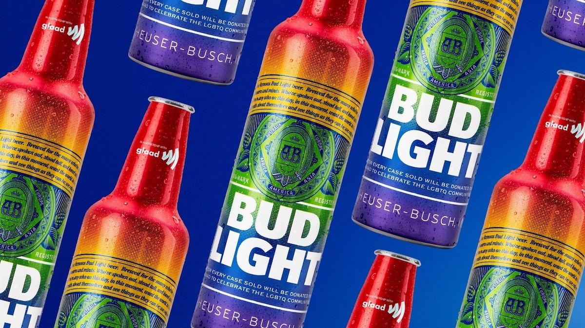 Bud Light Celebrates World Pride with Rainbow Inspired